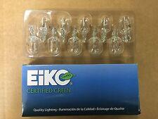 Set of 10: Genuine Eiko Certified 7440 Taillight Turn Signal Bulb USA SHIP