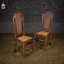 Antiques Antique Georgian Circa 1900 Glass Claw Feet High Back Ebonized Swivel Chair Seat