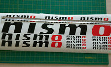NISMO vinyl sticker kit Black/Red Juke Graphics GT-R 370Z Motorsport decals