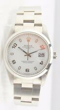 MENS S/S ROLEX OYSTER PERPETUAL DATE 15200 AUTOMATIC WRIST WATCH BOX & PAPERS