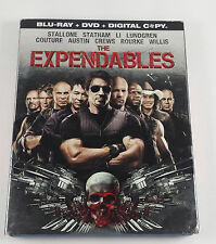 The Expendables Blu-ray Disc & DVD 2010 With Slipcover Sylvester Stallone Jet Li