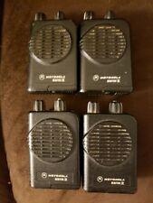 Motorola Minitor Iv (4) Sv Uhf