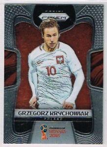 BASE CARD PANINI SOCCER PRIZM WORLD CUP RUSSIA 2018 N.151 KRYCHOWIAK POLAND