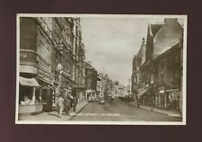 Leicestershire Leics LEICESTER Granby St Claire Millinery 1939 RP PPC