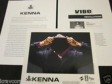 KENNA 'MAKE SURE THEY SEE MY FACE' 2007 PRESS KIT--PHOTO