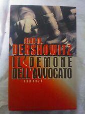 LIBRO ALAN M. DERSHOWITZ - IL DEMONE DEL'AVVOCATO - MONDADORI EDITORE 1995