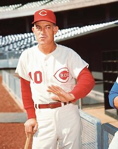 Sparky Anderson - Reds, 8x10 Color Photo