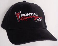 Hat Cap Licensed Pontiac Racing Black Hr 105