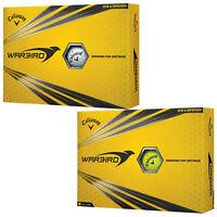 Callaway Warbird Golf Balls - Select Quantity Colour Packs Distance