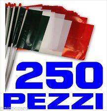 EUROPEI CALCIO 25 aprile bandiera ITALIA plastica 250 pezz TRICOLORE liberazione