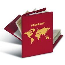 Herma RFID Schutzhülle für Reisepass - Rot (Schutz gegen Auslesen und Datenklau)