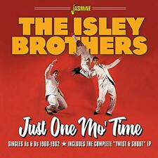 ISLEY BROTHERS-JUST ONE MO TIME / SINGLES AS & BS 1960-1962 ( (US IMPORT) CD NEW
