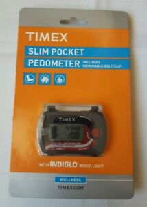 NEW TIMEX SLIM POCKET PEDOMETER MODEL Nº T5K632 ME