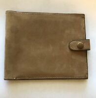 mens leather bifold wallet vintage