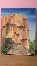 Original Oil on Canvas, G Bews, 2005, Untitled Landscape, Signed LRHS