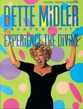 Bette Midler Greatest Hits (1993, Paperback): Experience the Divine-ExLibrary