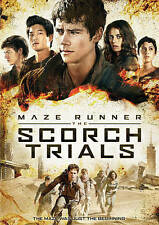 MAZE RUNNER: THE SCORCH TRIALS  DVD Dylan O'Brien - Aidan Gillen