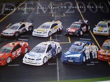Poster Plakat Opel Calibra V8 DTM 2000