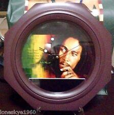 BOB MARLEY Memorabilia Collectors' Wall Clock