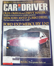Car And Driver Magazine Mercedes 300TD March 1981 032415R