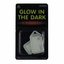 KEVRON ID43 Glow In The Dark Plastic Key Tags-FREE POST In Aust.