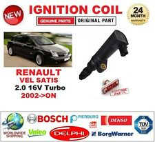 FOR RENAULT VEL SATIS 2.0 16V Turbo 2002-ON IGNITION COIL 2PIN CONNECTOR