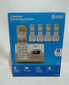 AT&T EL52513 5-Handset Expandable Cordless Phone with Answering System