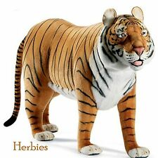 Hansa Lifesize Handmade Bengal Tiger 70 Inches Long, Holds up to 250 lb.