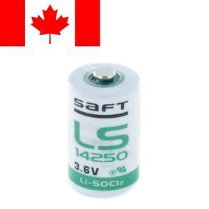 Saft LS14250 Battery 1/2 AA 3.6V Li-SOCl2 Lithium-Thionyl Chloride batteries