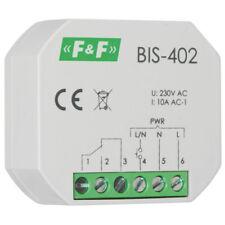 elektronischer Stromstoßschalter für Unterputz Einbau BIS-402 230V 10A Schließer