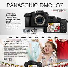 Lumix G7 Panasonic DMC-G7  Body Only (Black)