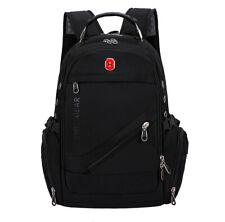 Men's Outdoor Travel Bag Waterproof Laptop Backpack School Bag Swiss Gear 4Color