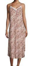Oscar De La Renta Women's Boudior Printed Gown $64 Sz M I513