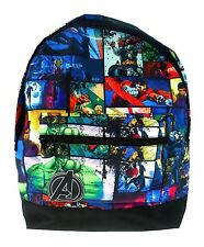 OFFICIAL MARVEL AVENGERS ASSEMBLE ROXY COMICS BOYS SCHOOL BACKPACK RUCKSACK NEW