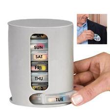 HD_ FT- 7 Days Tablet Pill Box Holder Weekly Medicine Storage Organizer Containe
