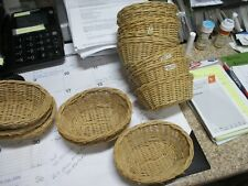 14 small baskets , wicker , crafts supplies