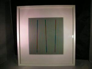Carlos Cruz-Diez, Sabado from the series Semana 2013 - Framed Print