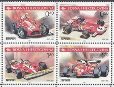 BOSNIA&HERZEGOVINA 2001** MNH SC # 391 Ferrari Race Cars