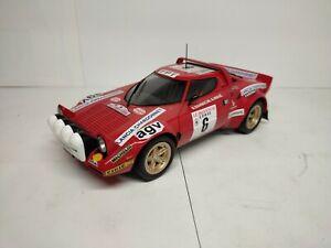 Lancia stratos HF #6 rallye tour de corse 1/18 Altaya no box
