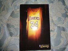 2006-07 LOS ANGELES LAKERS MEDIA GUIDE Yearbook KOBE BRYANT 2007 NBA Program AD