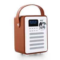 Wireless Retro Digital DAB+ / DAB FM Radio BT & Alarm Clock MP3 player Speaker