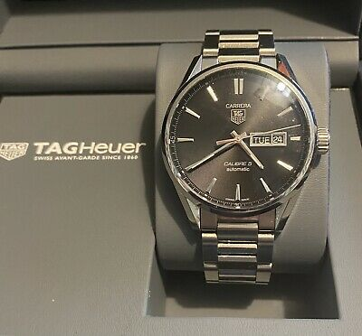 Tag Heuer Carrera Calibre 5 Automatic Gents mint condition Ideal Gift