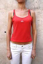 Adidas Mujer Sport Running Top Camiseta sin mangas Fucsia Nylon Camiseta Sin Mangas S Pequeño