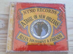 Allen Toussaint & Friends A Taste of New Orleans CD