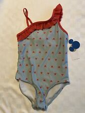 New listing New With Tags Girl's Junk Food Mickey Mouse One Piece Swim Bathing Suit Size M