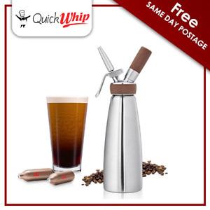 ISI Nitro Dispenser - Silver - Stainless Steel - 1790 - Nitro Coffee