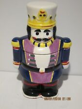 Vintage Toy Soldier Cookie Jar Great Condition, No Damage, Hand Made&Painted Fsp