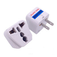 Universal EU UK AU to US USA AC Travel Power Plug Adapter Outlet Converter s