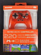 My Arcade Retro Micro Controller Plug & Play Game System - 220 Preloaded Games