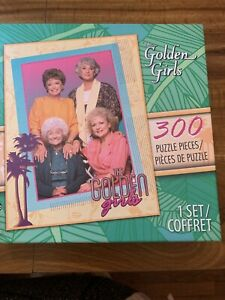 The Golden Girls 300 Piece Jigsaw Puzzle NEW Sealed
